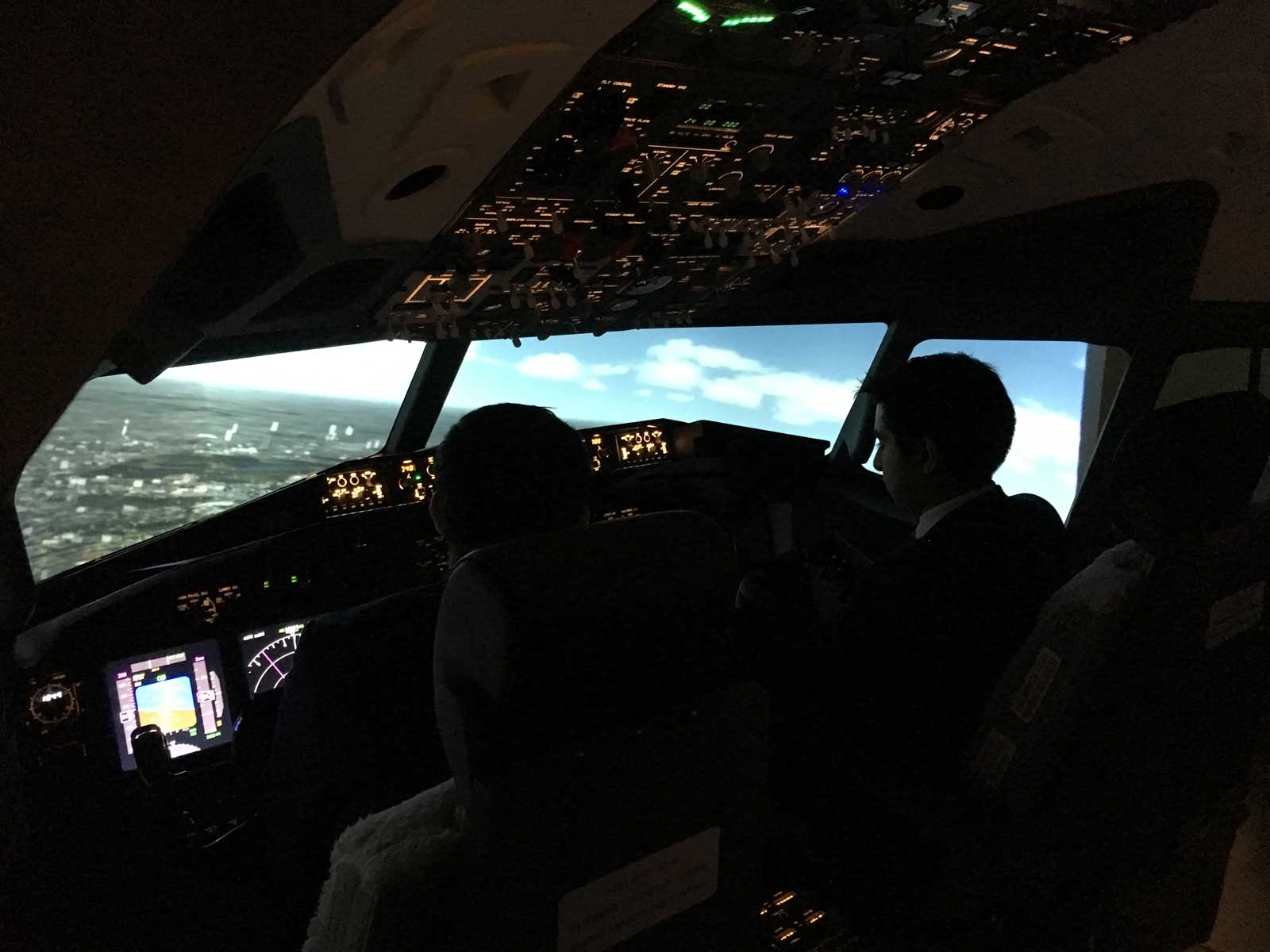 Flight Pad Simulator