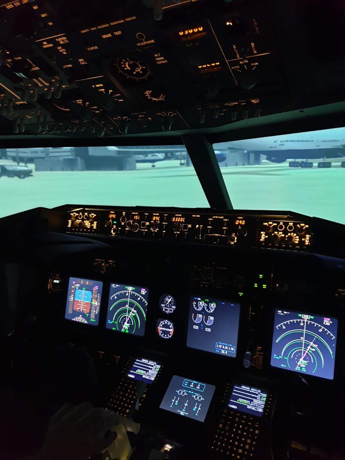 flight pad simulator